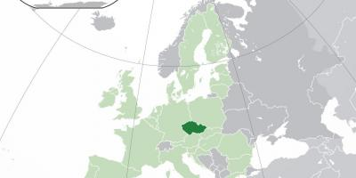 tsjekkoslovakia kart Tsjekkoslovakia world map   Tsjekkoslovakia på verdenskartet (Øst  tsjekkoslovakia kart